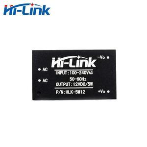 Бесплатная доставка сертифицированно Евросоюзом 5W 12V 450ma HLK-5M12 источника питания ac dc источник постоянного тока с режимом переключения 20 штук