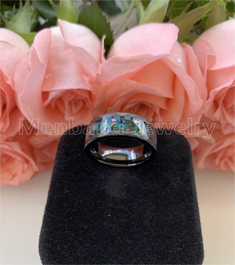 anel de face com galaxy série opal