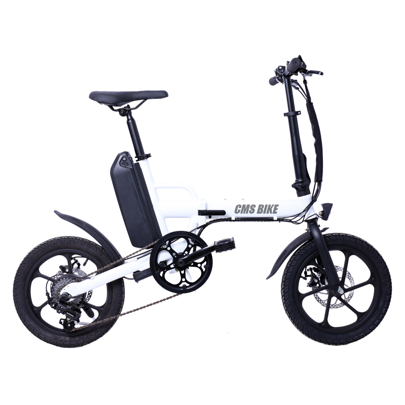 36v250w foldable electric bike with  LCD displayer disc brake 2