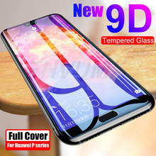 9D Protective Glass For Huawei Nova 3 3e 3i 4 4E P smart Z 2019 Screen Protector Film P20 Pro P30 Lite Full Cover Tempered Glass(China)