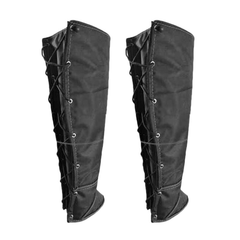 FGGS-Outdoor Anti-Bite Leggings Snake Worm Dog-Proof Jungle Anti-Stab Waterproof Snow Leg Cover Wind Sand Fishing Leggings