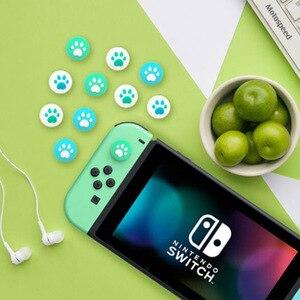 Image 3 - Silikonowy uchwyt na kciuki Cap analogowy joystick pokrywy skrzynka dla Zelda Mario przełącznik do nintendo NS Lite JoyCon kontroler Joy Con Joypad