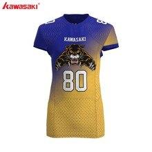 Кавасаки бренд на заказ Американский футбол Джерси для мужчин женщин детская рубашка разных размеров дышащие спортивные болельщики Футбол Джерси