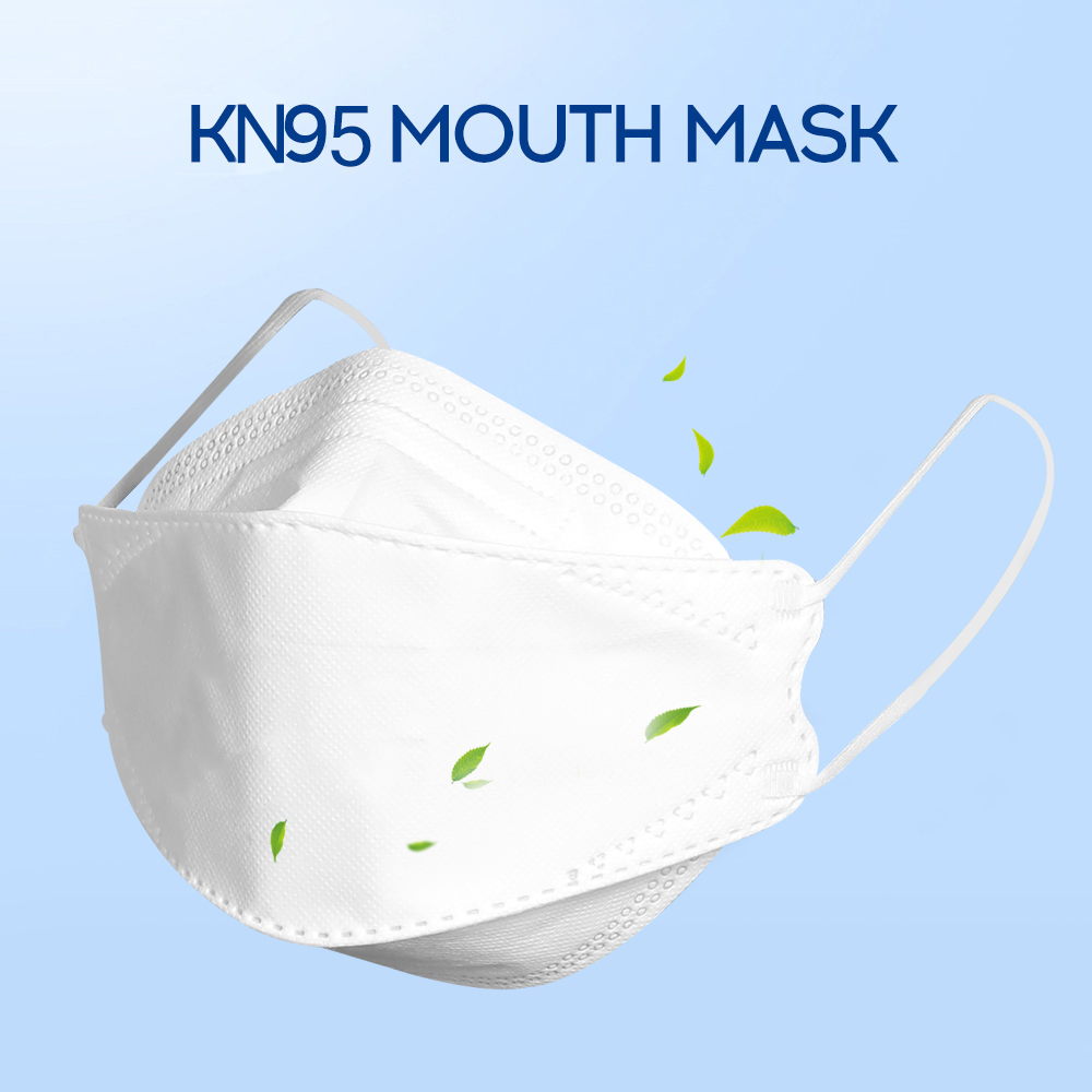 50PCS 마스크 KN95 As N95 Mask Mouth Face Filtration Cotton Mouth 