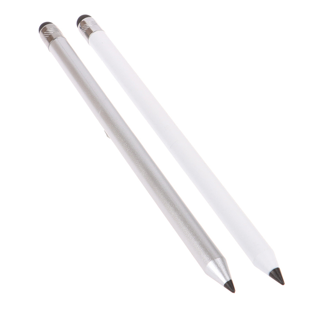 1PC Dual Head Touch Screen Stylus Pencil High Quality Capacitive Capacitor Pen For i-Pad For Samsung Phone Tablet PC Accessories