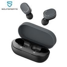 SoundPEATS Bluetooth Thật 5.0 Tai Nghe Nhét Tai Không Dây AptX Codec Cảm Ứng Điều Khiển Âm Lượng Tai Nghe Tích Mic 7.2Mm Tăng Cường Trình Điều Khiển