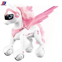 JXDA009 Creative Electric Remote Control Unicorn Model unicornio Robot Smart Horse Electronic Pet Educational licorne Kids Toys