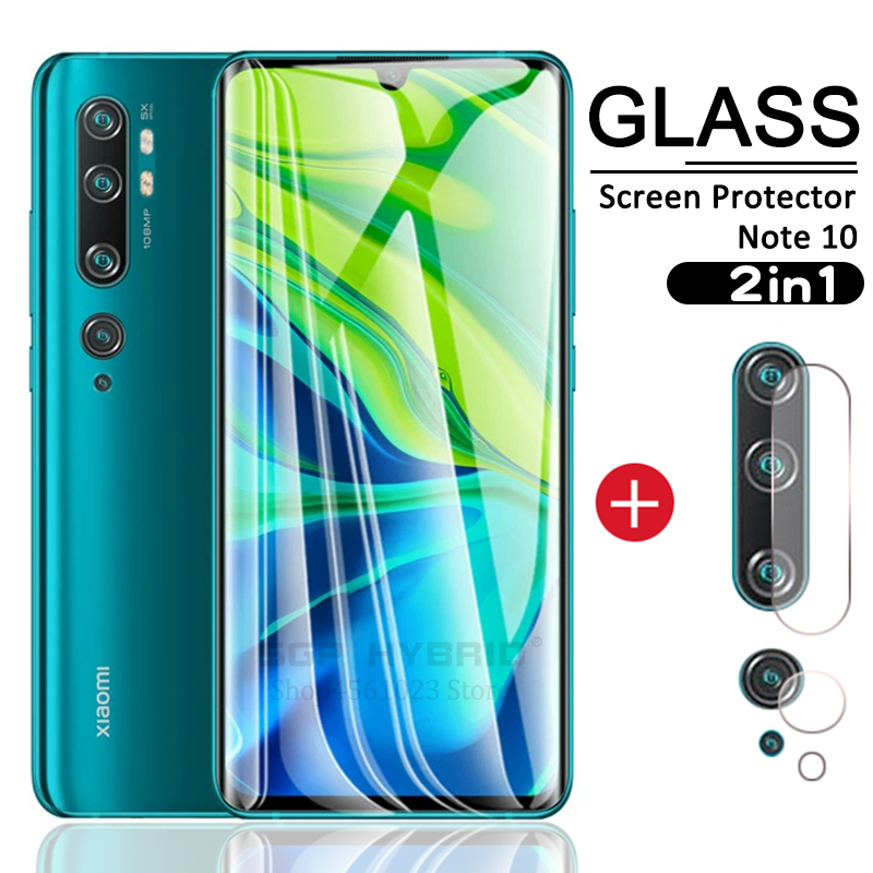 2in1 для Xiaomi Mi CC9e Note10 CC9 Pro экран загибающаяся Защитная Стекло & для Xiaomi Mi Note 10 CC9Pro 10Pro CC 9Pro 9e объектив Камера пленка