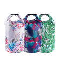 PVC Waterproof Bag 5L 10L 20L Outdoor swimming Bag Diving Compression Storage Dry Bag For Man Women Kayaking backpack