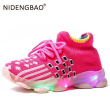 Kids Led Glowing Shoes Children's running Shoes Toddler Baby Girl boys sport Shoes 2020 Summer Autumn Kids Led Luminous Shoes spring leather boys running shoes pink kids sneakers girl white little boys shoes sport kids shoes kids fashion shoes