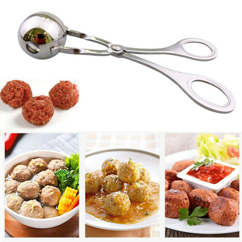 Meatball Maker Spoon Non Stick Thick Stainless Steel Meat Baller Kitchen Tool