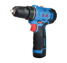 Dongcheng DCJZ23-10E Electric Drill Rechargeable Multifunctional Positive and Negative Speed Regulating Lithium Electric Drill