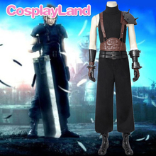 Game Final Fantasy VII Cosplay Cloud Strife Costume Uniform Halloween Carnival Party Adult Men Pants Suit Custom Made Outfit