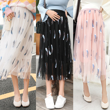 Pregnancy Clothes Maternity Skirts Spring Autumn Straight Pr