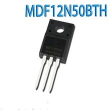 цена на Free shipping 10PCS MDF12N50 12N50 TO-220F 500V 12A MDF12N50BTH TO220F MDF12N50FTH MDF12N50TH Brand new original