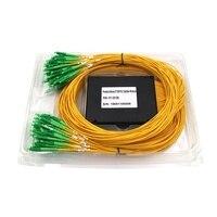 Single mode Fiber Optic Splitter LC/APC 2X128 plc splitter FBT Optical Couple