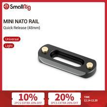 Smallrig Mini (6Mm Dunne) Camera Quick Release Nato Rail (48Mm) te Monteren Nato Klemmen 2172