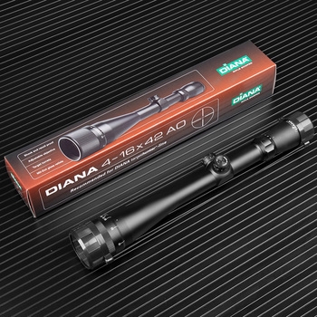 DIANA 4-16X42AO Tactical Rifle scope Mil Dot Reticle Optical Sight Hunting Optics Scope Air Gun Spotting scope for rifle hunting 3