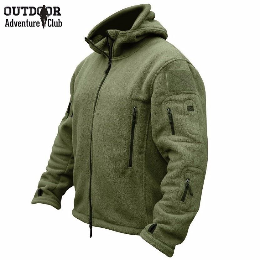 ZOGAA Sports Climbing Jacket Coat 2018 Men's Fleece Tactical Jacket Military Outdoor Polartec Lightweight Breathable Uniform