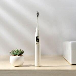 Image 3 - Global Versie Oclean X Sonic Elektrische Tandenborstel Volwassen IPX7 Ultra Sonic Automatische Snel Opladen Tandenborstel Met Touch Screen