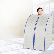 цена на Household steaming box Folding Portable sauna Far Infrared dry steaming room Sauna box with remote control 6067