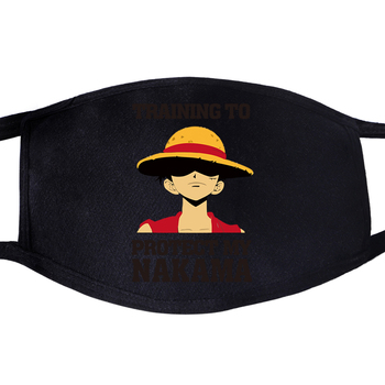 One Piece Luffy Anime The Pirate King Dustproof Mouth Face Mask Fashion Reusable Fabric Anti Pollution Reusable Washable Masks 2020 one piece mask monkey d luffy pirate cotton masks reusable washable skull cosplay masque