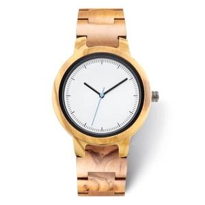 Image 4 - 2020 Private Label Fashion Eco friendly Custom Logo Luxury Black Copper Dial Woman Wood Walnut Watch for Lady