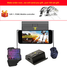 G1X Phone Gamepad Android Pubg Controller Gaming Keyboard Mouse To PC Converter Adapter for IPhone Free Shipping and Gift(China)