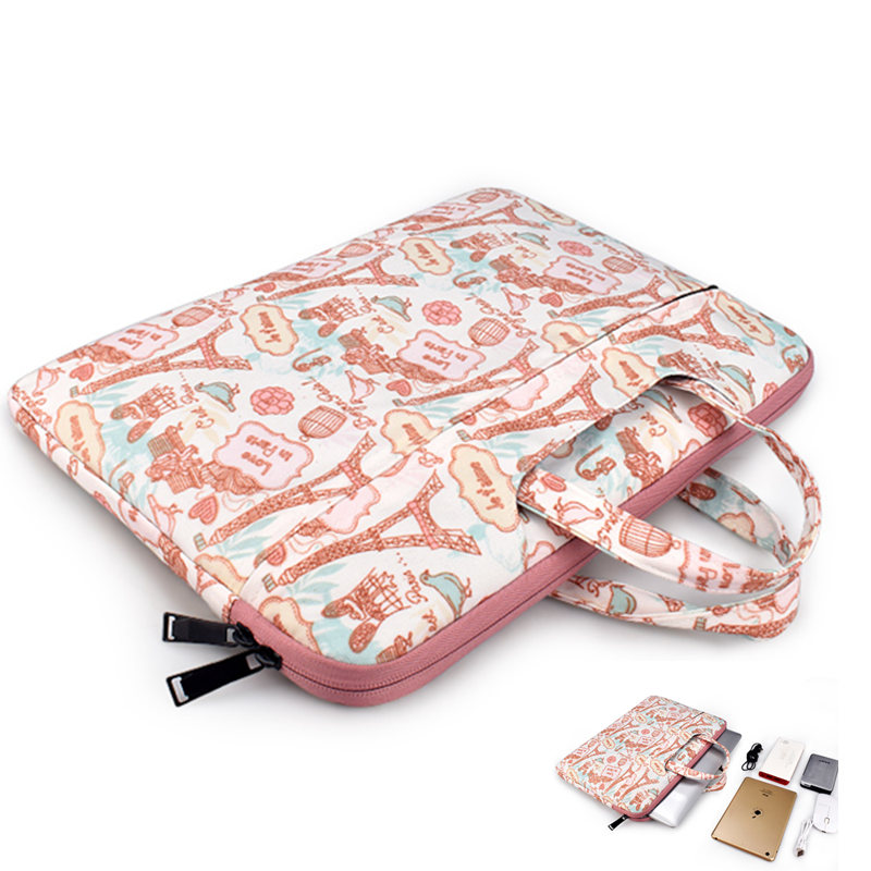 Monkey Pattern 13 Inch Laptop Computer Sleeve Notebook Cover Case Soft Computer Pouch Laptop Protective Bag Pouch