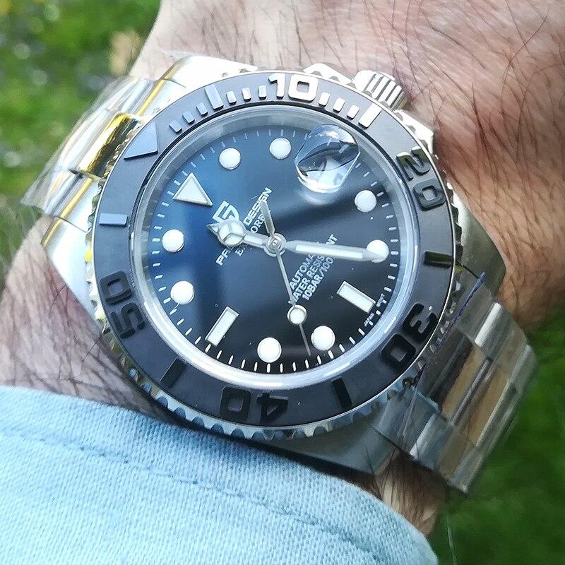 PAGANI DESIGN Business Watch Men Automatic Mechanical  Watch Luxury Fashion Stainless Steel Sport Watches Men Relogio Masculino
