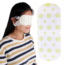 1PC Disposable Steam Eye Mask Warming Sleep Spa Patch For Tired Eyes Relaxing X5XC kongdy 4 bags lavender eye steam mask hot warming eye mask for tired eyes relaxing remove dark circles masks massage relaxation