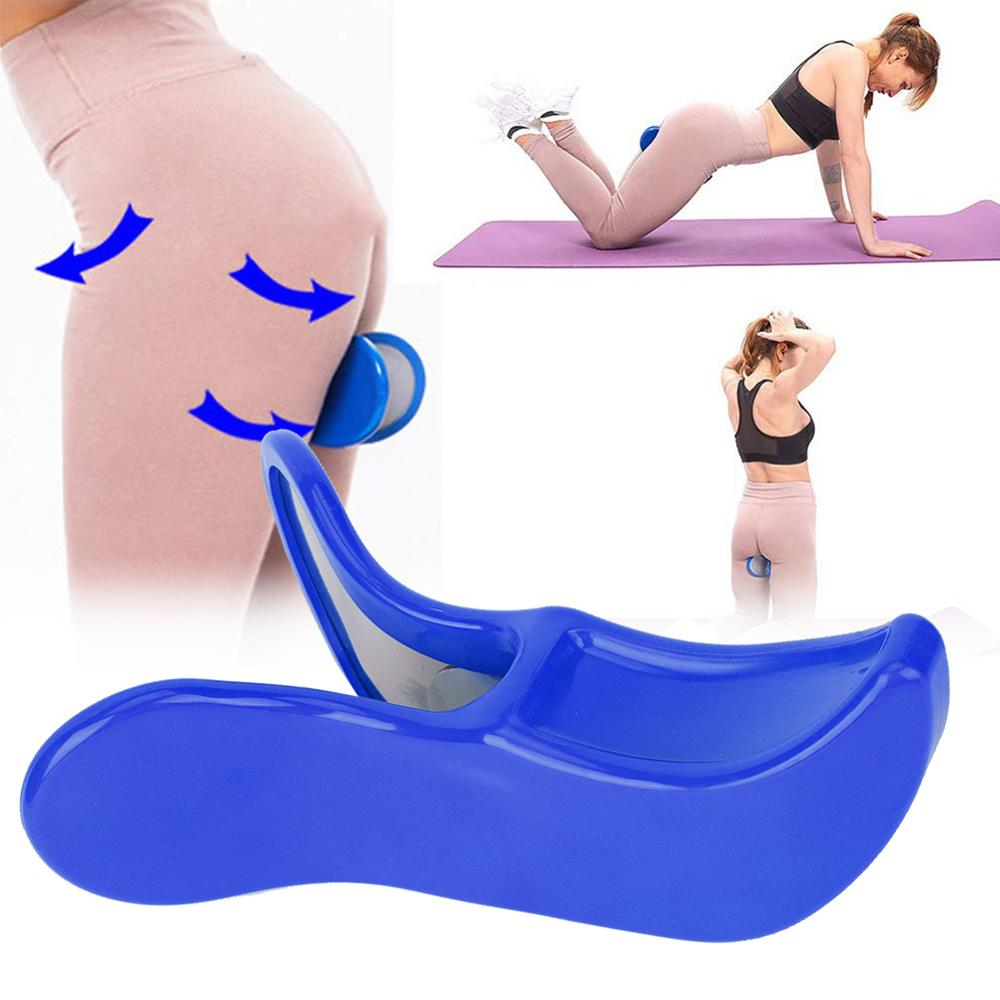Butt Hip Trainer Pelvic Floor Muscle Inner Thigh Buttocks Exerciser Bodybuilding Fitness Beauty Equipment Bladder Control Device