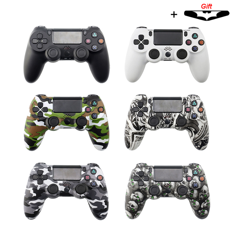 For PS4 Pro Bluetooth Wireless/Wired Controller SONY Slim Gamepad PlayStation 4 Joystick PS3 Dualshock