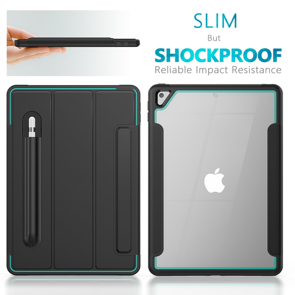 7th Gen Sleep/Wake Smart Case Case 8th 10.2 Stand For inch iPad Generation 2019 Auto