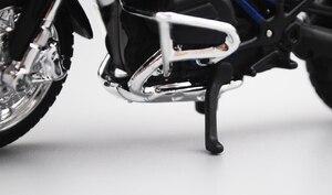 Image 4 - Maisto 1/18 1:18 סולם BMW R1200 GS אופנועים אופנועים Diecast תצוגת מודלים יום הולדת מתנת צעצוע לילדים בני