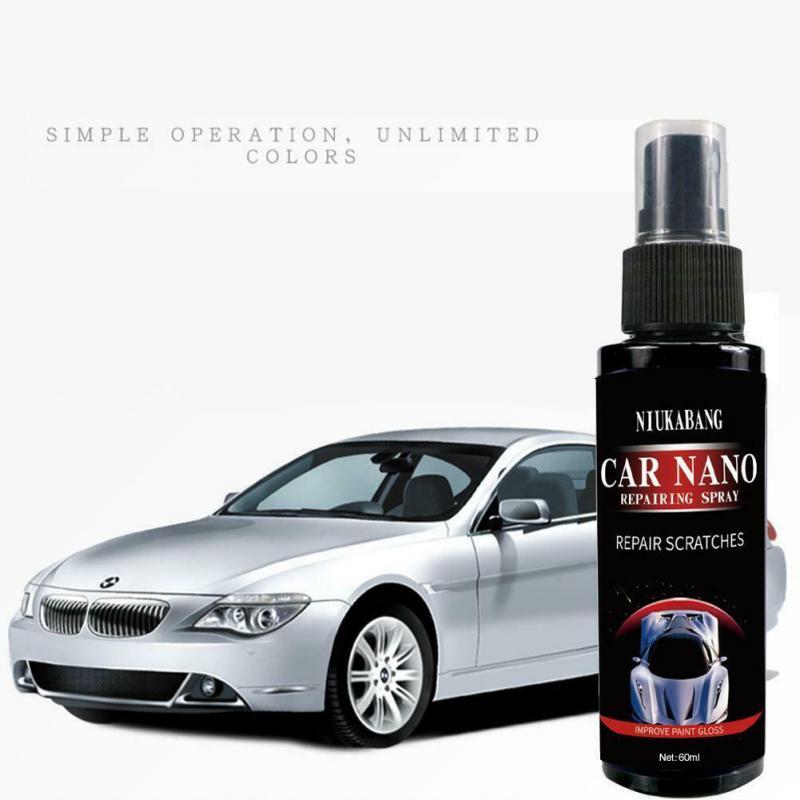 60 мл Авто покрытие против царапин агент ремонт нано-распыляющее окисления Керамика пальто автомобильных ремонт агент Краски уход