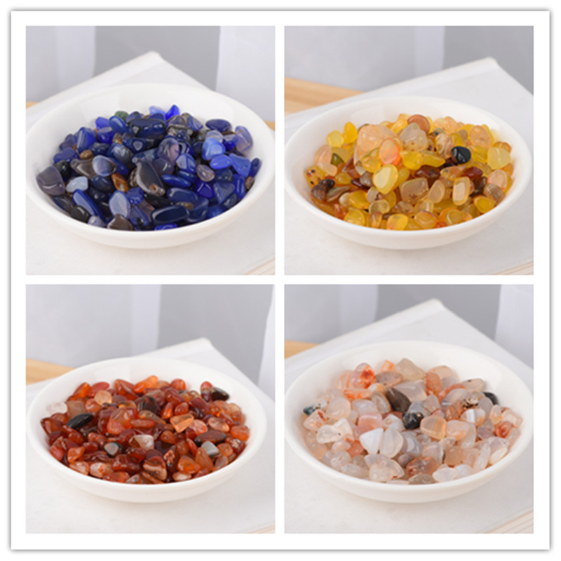 Natural Crystal Quartz Stone Mineral Specimens Aquarium Quartz Color Healing Stone Healing Aura Beads Aquarium Garden Decoration