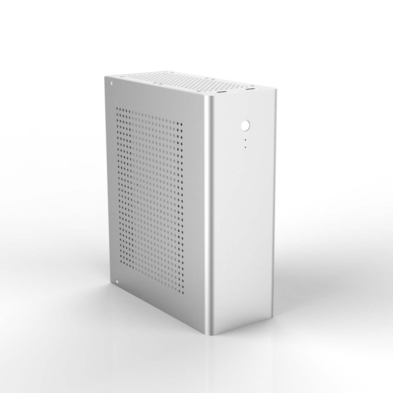 Pc Mini Itx Safe Cabinet Computer Gamer Case Tower Htpc Case Desktop Gaming All Aluminum Slim Chassis Supports Gpu Knife Card Computer Cases Towers Aliexpress