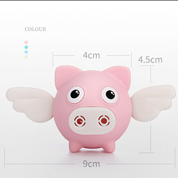Cute Car Air Perfume Flying Pig Aroma Diffuser Air Freshener Auto Interior Scent Aromatherapy Decor Car Accessory Piggy Ornament 2