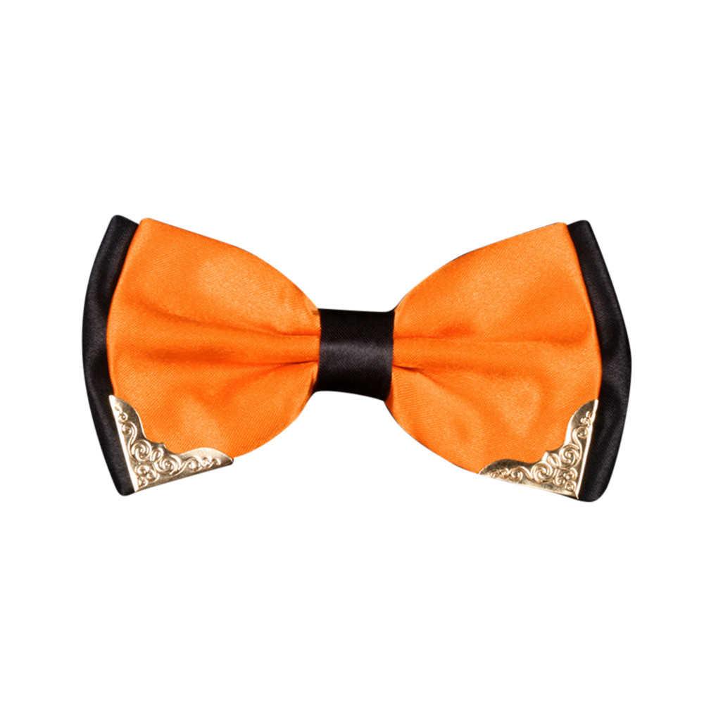 Di modo Classico Vestito di Cravatte di Lusso Boutique Papillon Donne Farfalla del Legame di Arco Degli Uomini di Nozze Cravatta Blu Bowtie 920