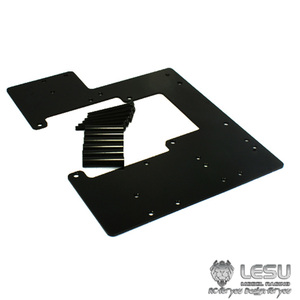 LESU Metal Battery Compartment for 1/14 TAMIYA Scania R620 MAN RC Tractor Truck
