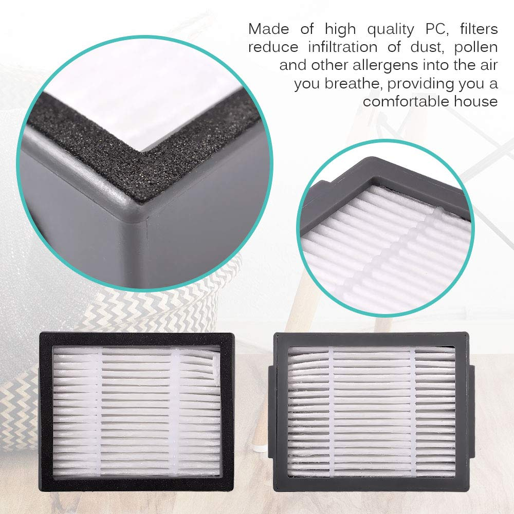 Rolling Brush Hepa Filter Side Brush Dust Bag for iRobot Roomba i7 E5 E6 I Series Robot Vacuum Cleaner Replacement Spare Parts in Vacuum Cleaner Parts from Home Appliances