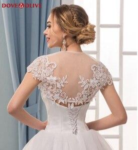 Białe kobiety koronkowe okłady eleganckie rękawy Cape bolerka proste Illusion Party Jacket Cape suknie wieczorowe ślubne formalne szale 2020