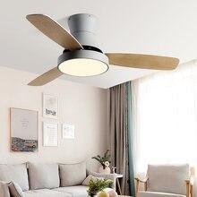 Чарли Чаплином для древесины потолочный вентилятор с светильник