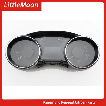 Dashboard instrument cluster assembly original brand new authentic spot supply full network authentic for Peugeot 3008