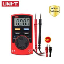 UNI-T UT120A/UT120B/UT120C Mini Digital Multimeters AC/DC Voltage Meters Testers Multimeter Ammeter Multitester Data Hold