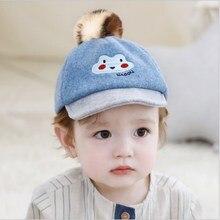 Cute Baby Girl Boy Autumn Winter Hats Lovely Cartoon Print Kid Unisex Hat Warm Breathable Outdoor Baby Caps стоимость
