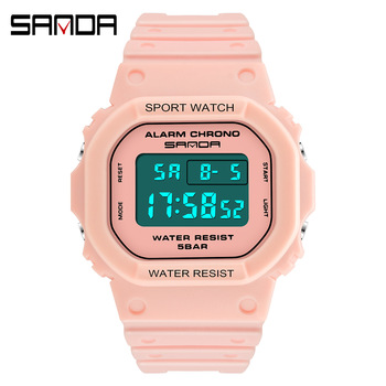 digital watch for women led clock ladies waterproof dress electronic diving men wristwatches fashion Couple sport