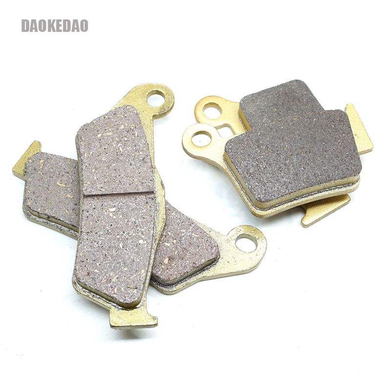 For <font><b>KTM</b></font> EXC-F250 EXC-G250 Sixdays EXC-F350 EXC-F450 Racing EXC-G450 EXC-R450 EXC-F500 Front Rear Brake Disc Pads Set Kit image