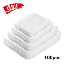 100 шт./лот Кухня Еда Вакуумный упаковщик упаковка мешок вакуум пластик пакет для пищевых продуктов сумки вакуумная упаковочная машина для дома кухня интимные аксессуары фасовочные пакеты фасовочные пакетики